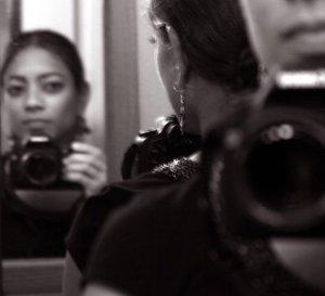 My First Canon SLR Camera - self portrait