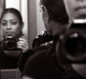 My First Canon SLR Camera - self portrait
